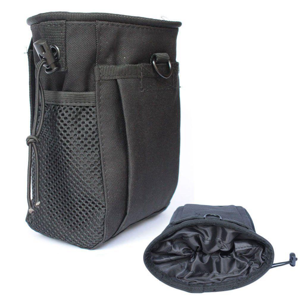 waist bag! Magazine storage dump pouch Military pouch Black
