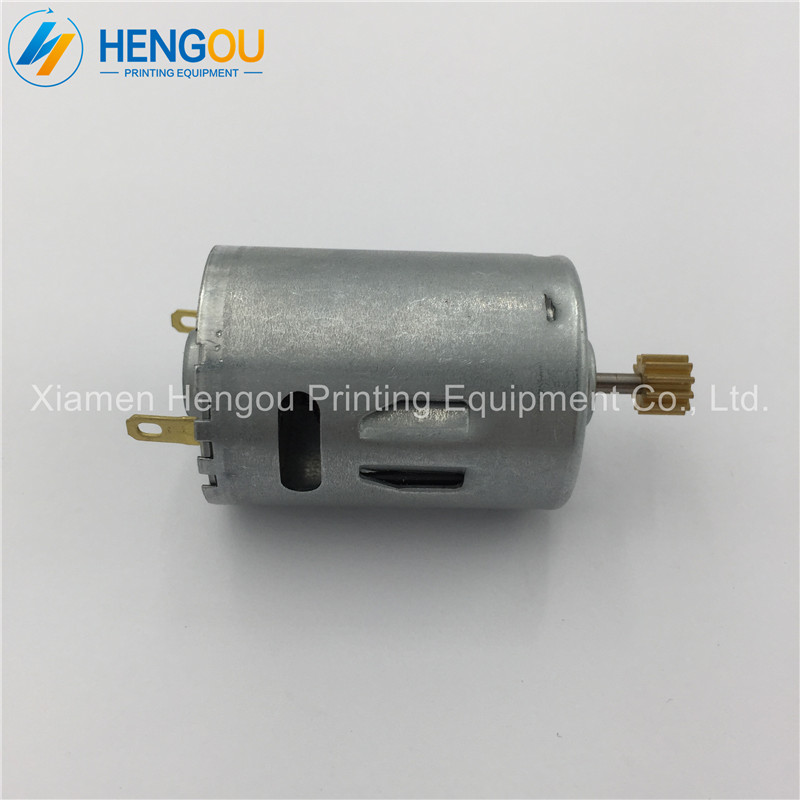 2 Pieces Free Shipping R2.144.1121 Heidelberg Printing Parts Inside Motor, Small Motor for Heidelberg Machine 2 pieces r2 144 1121 heidelberg machine gear motor compatible new