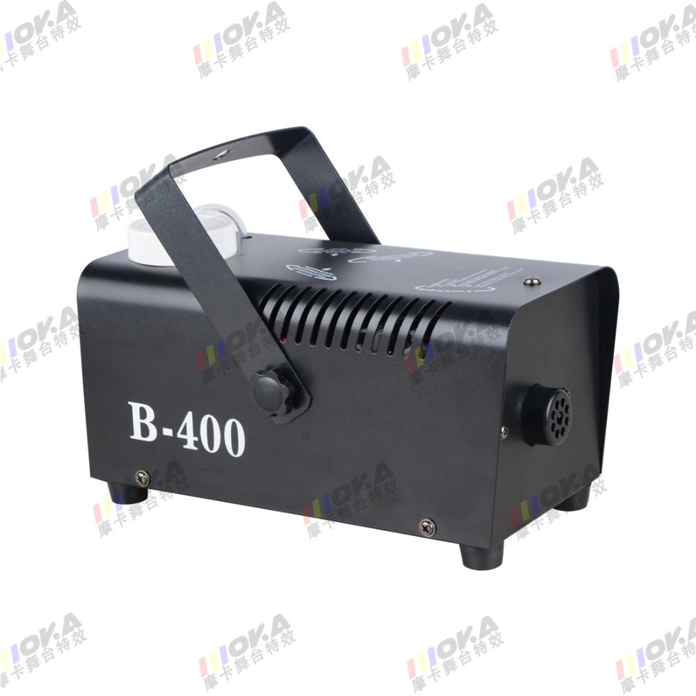 professional fog machine 400W Mini smoke Machine with Wireless Remote For Wedding Effects Event Party