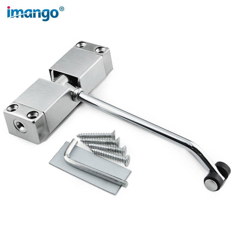 Door Closer-Adjustable Automatic Grade 3 Spring Hydraulic Door Closer,Aluminum Alloy,Hydraulic Auto Door-Closer Commercial Grade цены