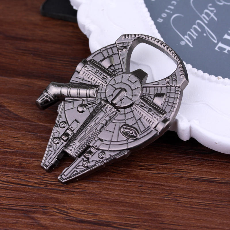 2018 Figures Action Toys Star Wars Spacecraft Beer Bottle Opener Kitchen Gadgets Dining Bar Cooking
