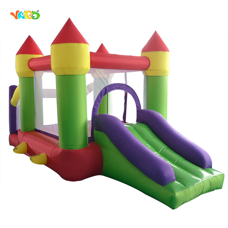 YARD Bouncy Castle Inflatable Bouncer Bounce House Jumping Castle Slide Ball Pit with Blower jumping inflatable castle bouncy castle jumper bouncer castle inflatable bouncer with slide