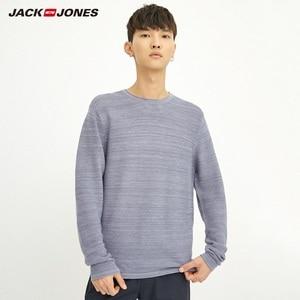 Image 3 - JackJones גברים של Slim Fit צמר סוודר מזדמן ארוך שרוול סוודר גברים של למעלה 218324521
