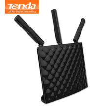 Tenda AC15 1900Mbps Smart Dual-Band WiFi Router, 2.4G/5GHz With USB3.0, 802.11AC Repeater Remote Control APP