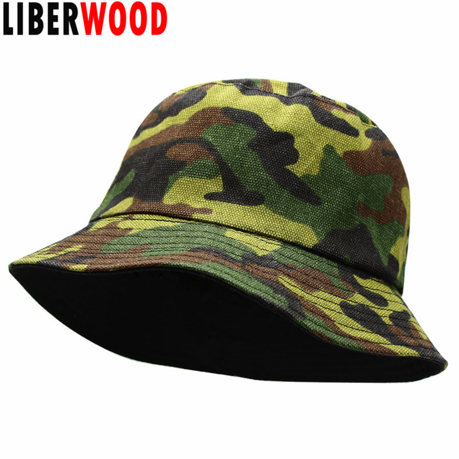 Boonie Bucket Hat Cap Cotton Fishing Military Hunting Safari Sun Outdoor Men