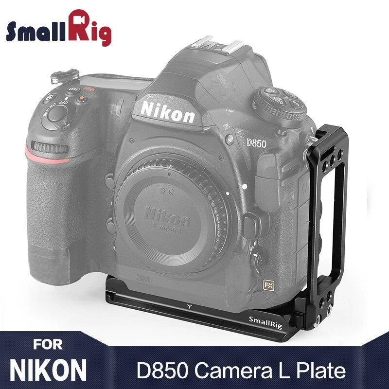 SmallRig szybkie uwolnienie płyta L uchwyt do Nikon D850 L płyta z Arca Swiss płyta do aparatu fotograficznego strzelanie 2232 w Monopody od Elektronika użytkowa na AliExpress - 11.11_Double 11Singles' Day 1