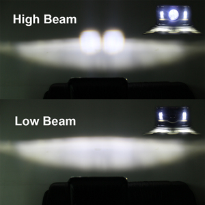 Image 3 - 4 шт. х черные 4X6 светодиодный лампы для фар 45 Вт для Kenworth H4 до H13 120/132 T400 T600