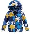 Novo 2016 Outono e inverno Nova moda de alta qualidade Crianças jaqueta color2