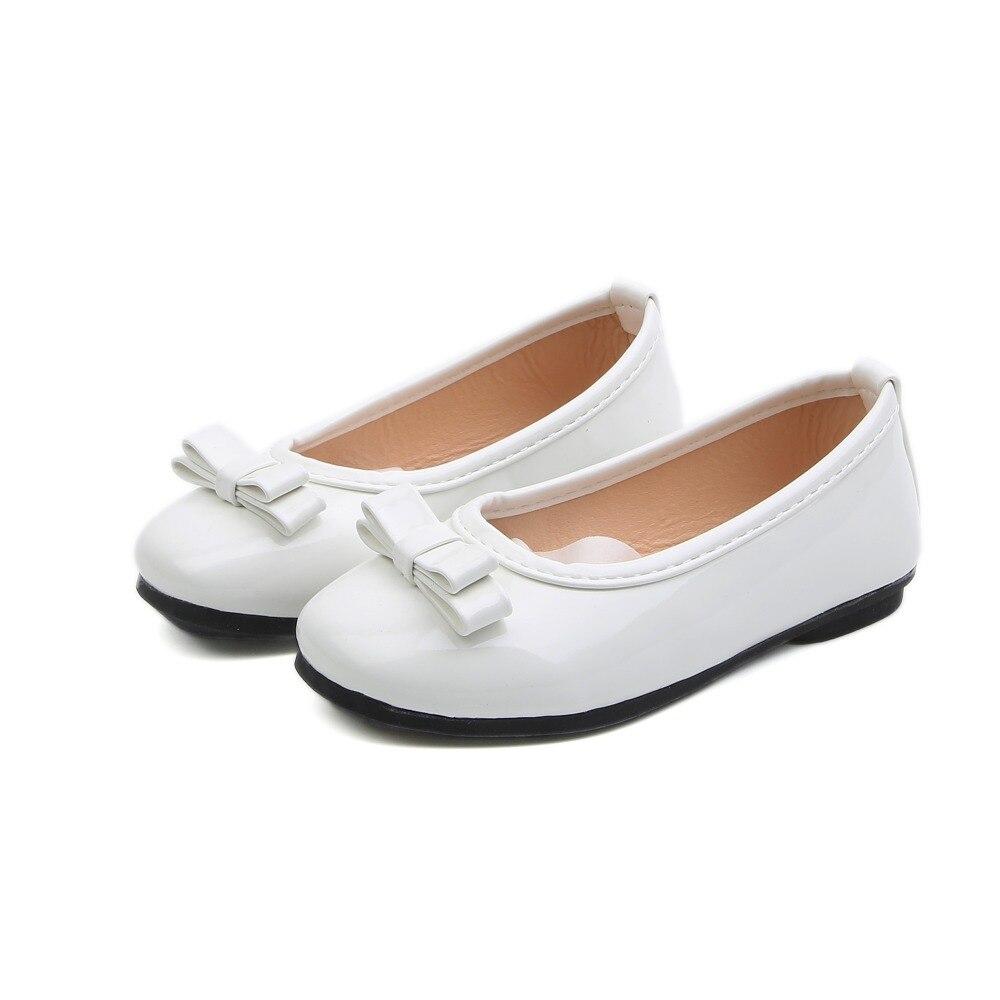 Anne ve Çocuk'ten Tenis Ayakk.'de COZULMA Yeni Kız Bebek Ayakkabıları Bahar Yaz Çocuk Kız Mary Jane Papyon Elbise Ayakkabı Kızlar Yaz Yumuşak Alt Dans parti ayakkabıları title=