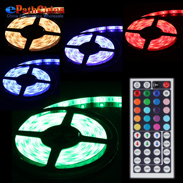 Waterproof 5m smd 5050 rgb color changing flexible 150 leds led waterproof 5m smd 5050 rgb color changing flexible 150 leds led strip light lamp ir aloadofball Gallery