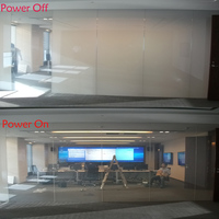 40inch X 40inch PDLC Window Tint Smart Film For Rear Projection Screen