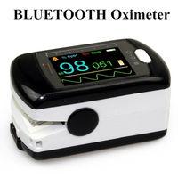 Bluetooth Беспроводной кончик пальца Пульсоксиметр насыщения крови кислородом Мониторы cms50ew, USB sw, oled Экран, CONTEC oximetro