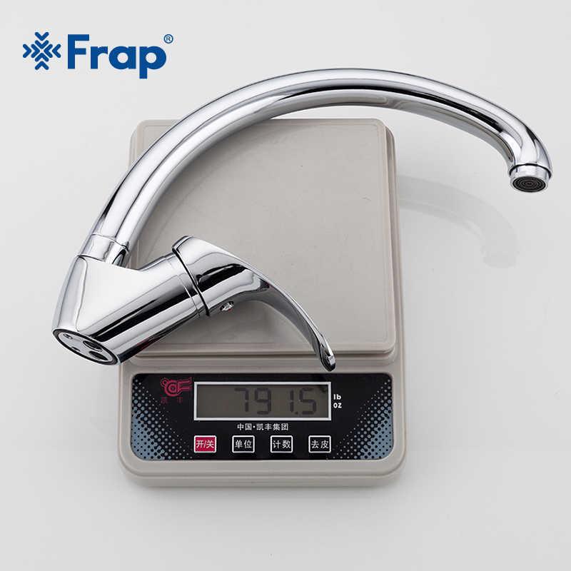 FRAP kuchnia kran pojedynczy uchwyt kuchenny kran zlew zawory mieszające oszczędzania wody zimnej i ciepłej wody mikser proste kran do zlewu ware