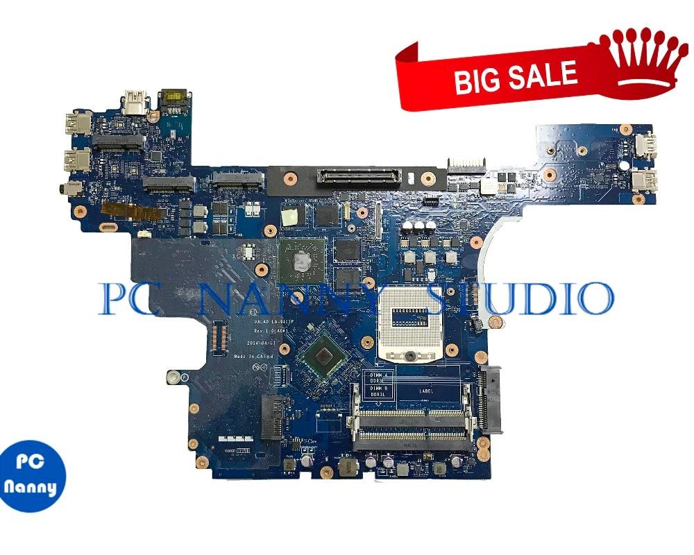 PANANNY 0VWNW8 LA-9411P для dell Latitude E6540 Материнская плата ноутбука HM86 DDR3L протестирована