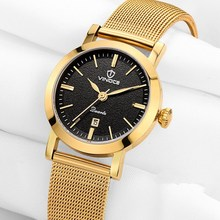 VINOCE watch women fashion luxury watch Reloj Mujer Stainless Steel Quality Ladies Quartz Watch Women clock Watches