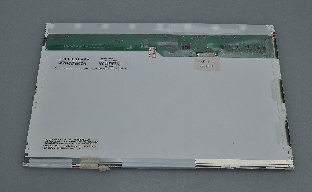 LQ133K1LA4A Matrix WXGA LCD LED Display Laptop Screen Panel CCFL Replacement Parts Glossy Glare LED