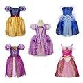 Verano Vestidos de Las Muchachas del regalo de navidad Tutu Bebé Disfraz de Princesa Elsa Snow Queen Anna Vestido Del Bebé Vestido de Los Cabritos Muchachas Del Vestido de Partido ropa