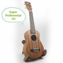 Soprano Ukulele de 21 Pulgadas Guitarra 4 Cuerdas de Ukelele Guitarra Hawaiana Bat Sapele Uke Artesanía De Madera Mini Pequeños Instrumentos Musicales