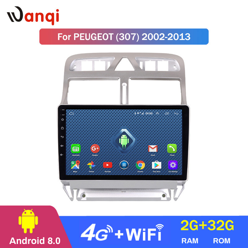 4G Lte All Netcom Android 8.0 Car DVD Video Player GPS Navigation Multimedia For peugeot 307 Radio 2004 2005 2006-2010 2011 20134G Lte All Netcom Android 8.0 Car DVD Video Player GPS Navigation Multimedia For peugeot 307 Radio 2004 2005 2006-2010 2011 2013