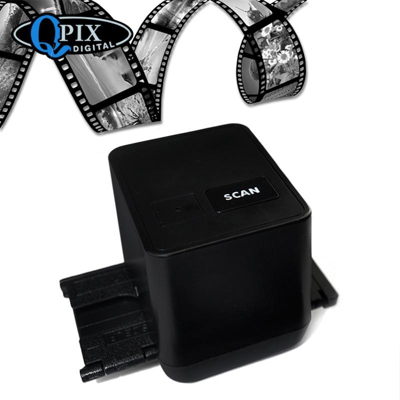 17 9 Mega Pixels Driver Free USB 35mm Negative Film Scanner 135 Slide and Film Converter