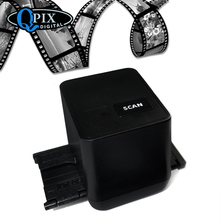 Free shipping,driver free USB 35mm negative film scanner/film converter,black color,17.9mp high resolution 35mm 135mm negative film