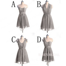 Collection Gray Party Dress Pictures - Reikian