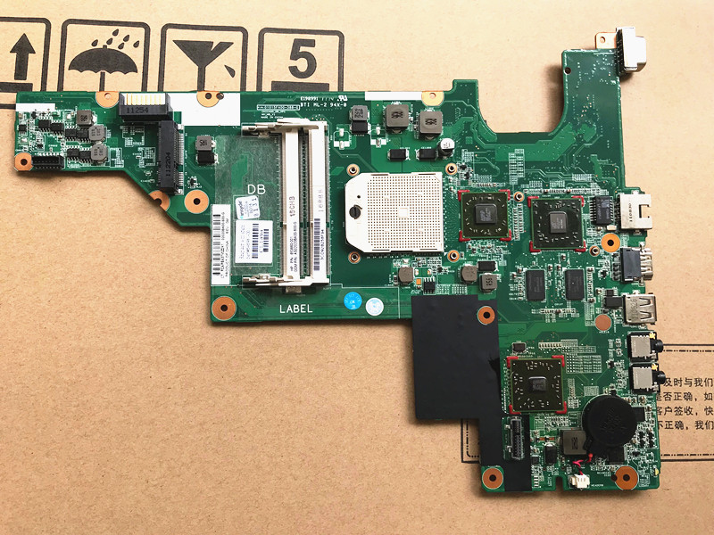 Suitable For HP CQ43 635 G43 Notebook Motherboard with HD6370 GPU 646981-001Suitable For HP CQ43 635 G43 Notebook Motherboard with HD6370 GPU 646981-001