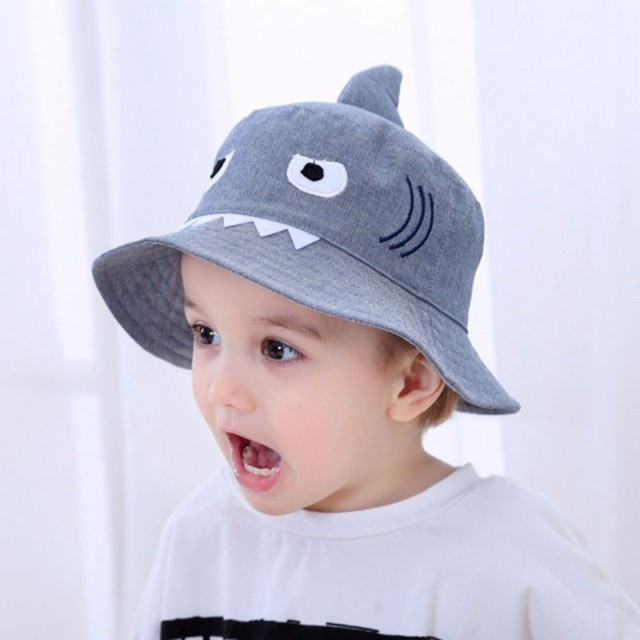 Autumn Baby Boys Girls Hat Toddler Cute Cartoon Bucket Hats Caps Sun Hat UV  Protection 3-8T 1a8cbe8a01d
