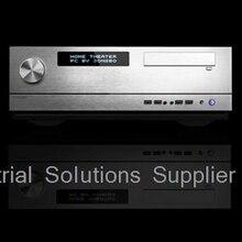 NEW Htpc g2 silver plain large-panel big power supply volume knob external hard drive