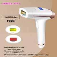 Lescolton 700000times 3in1 IPL Epilator laser Hair Removal LCD Display Machine Permanent Bikini Trimmer Electric depilador