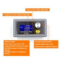 XY PWM Signal Generator 1 Channel 1Hz 150KHz PWM Pulse Frequency Duty Cycle Adjustable Module LCD Display|Signal Generators| |  -