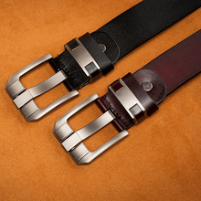 Men's Vintage Genuine Leather Pin Buckle Belt