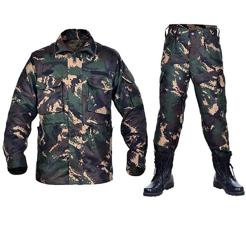 Men Outdoor Tactical Uniform Men's Tactical Suit Camouflage Hiking Hunting Clothes Men Military Camouflage Jacket and Pants 20pcs lot ka331 dip 8