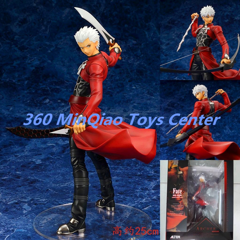 ФОТО Fate stay night Archer 1/8 Scale Painted PVC Action Figure Collectible Model Toy 25cmRETAIL BOX WU719