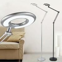 Nordic Eye-beschermende LED Vloerlamp 8 W koud wit Moderne pas Stand Licht voor Woonkamer Sofa Nachtkastje lezen Piano Lamp