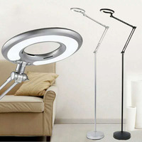 Nordic Eye protective LED Floor Lamp 8W cold white Modern adjust Stand Light for Living Room Sofa Bedside Reading Piano Lamp