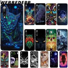WEBBEDEPP Animal Owl painting Soft TPU Case Cover for Xiaomi Mi 6 8 A2 Lite 6 9 A1 Mix 2s Max 3 F1 Case webbedepp little mix soft tpu case cover for xiaomi mi 6 8 a2 lite 6 9 a1 mix 2s max 3 f1 case