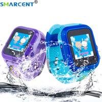 Smarcent DF27 Waterproof Children Baby GPS Swim Phone Smart Watch SOS Call Location Device Tracker Kids