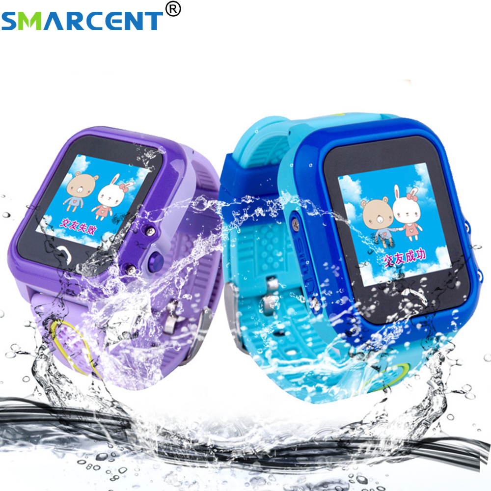 Smarcent DF27 Waterproof Children baby GPS Swim phone smart watch SOS Call Location Device Tracker Kids Safe Anti Lost Monitor-in Smart Watches from Consumer Electronics on AliExpress