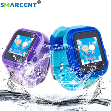 Smarcent DF27 Waterproof Children baby GPS Swim phone smart watch SOS Call Location Device Tracker Kids Safe Anti-Lost Monitor