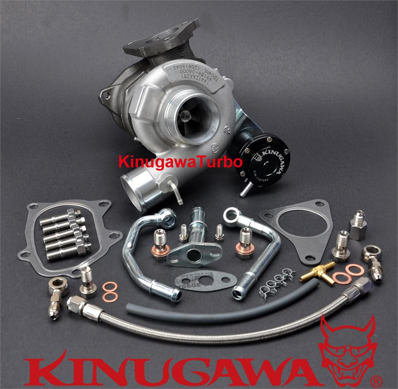 Kinugawa 9B TW Atualização Turbo TD04HL-15T 6 cm para SUBARU IMPREZA Forester 58 T EJ205 Bolt-On