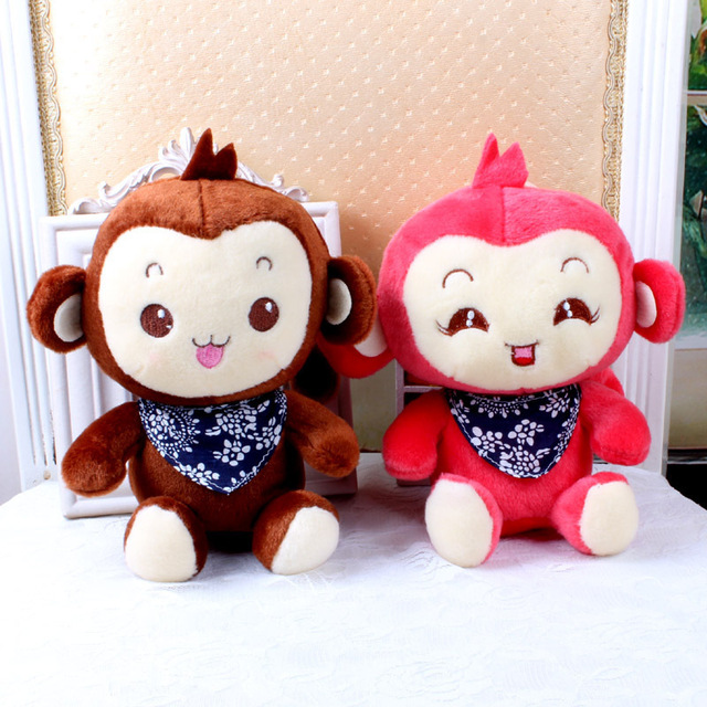 New Doll Children Cute Monkey Plush Toys Baby Nano Doll Kids Sound