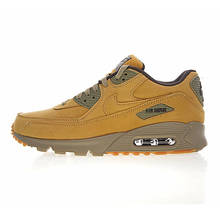 ffc0bd0bb6 Nike Air Max 90 Winter PRM Men's and Women's Running Shoes, Yellow, White  Absorption