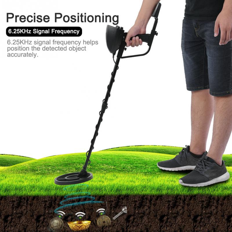 MD-4080 180mm Under Ground Hobby Metal Detector Finder Gold Metal Detector Treasure Hunter Detector Electrico Metales Detector md 5008 under ground metal detector gold digger coin finder treasure hunter big coil