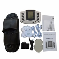New Electrical Acupuncture Pulse Massager Tens Full Body Relax Muscle Stimulation Machine With 4Pcs Electrode Pads
