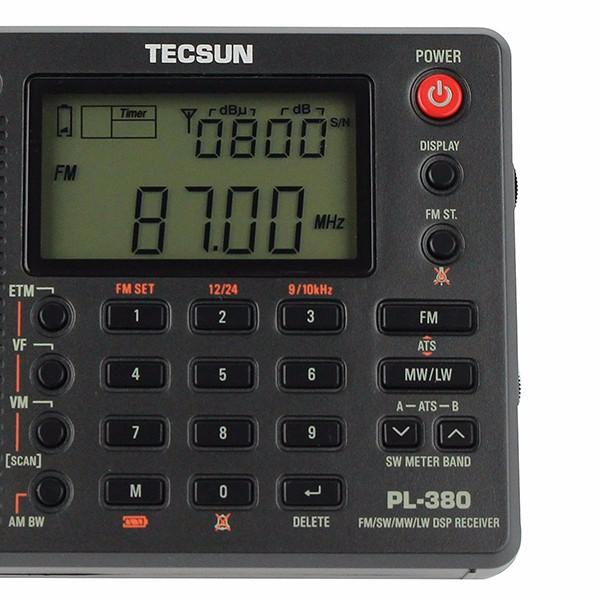 Hot TECSUN PL-380 DSP Radio (11)