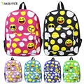 Fashion Lovely Printing 3D Emoji Backpack Smiling Face Casual Daypacks School Book Bags Backpack Travel Bag School Bag