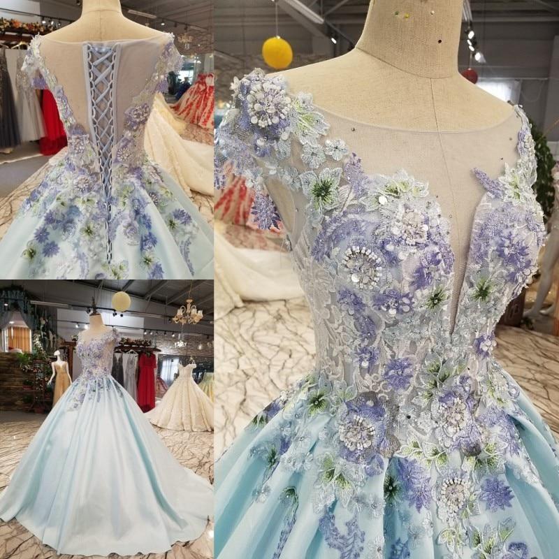 Evening Dress 2018 New Korean Banquet Thin One Shoulder Noble Grace Bride Toast Serve Marry Full Dress 1277 ...