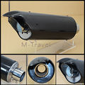 Universal Modified Motorcycle Carbon Fiber Exhaust Pipe Back Pressure High Temperature Resistant Stainless-s Muffler