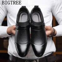 Мужские туфли-оксфорды; Лоферы без застежки; Мужские модельные туфли в деловом стиле; zapatos de hombre de vestir; нарядные туфли для мужчин; sapato social